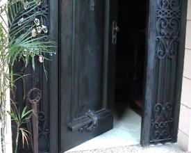 Inngangsdør
