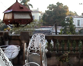 Terrassen i 2.etg.
