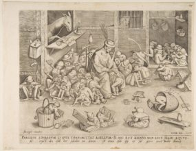 Eselskolen Pieter Bruegel the elder 1525-1569