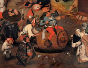 Karnevalet og fasten Pieter Breugel den yngre